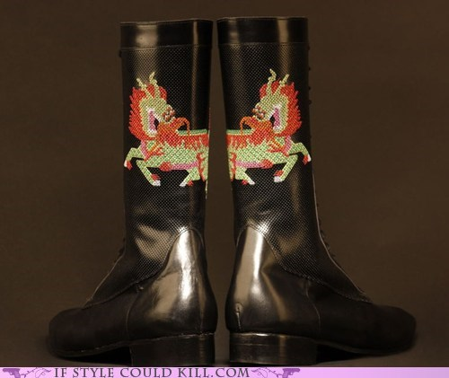 boots chinese crazy shoes dragons - 5780171008