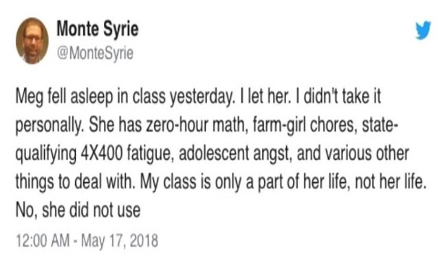twitter teachers tweets cheezcake funny - 5780485