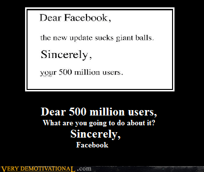 500 million users facebook jerks Mean People - 5780613888