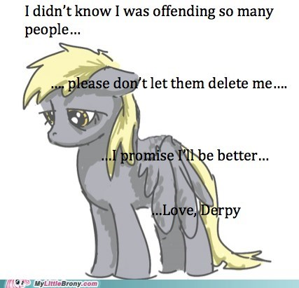 derpy hooves love and tolerate meme petition save derpy - 5780896256