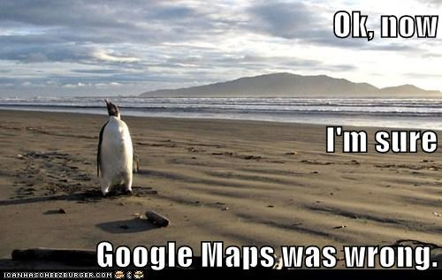 Ok, now I'm sure Google Maps was wrong.
