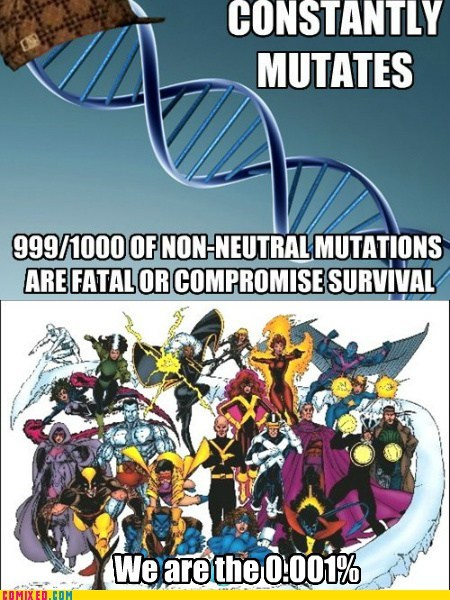 DNA jerks mutants Super-Lols x men - 5782146048