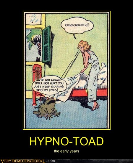 comics early years hilarious hypno toad wtf - 5782198016