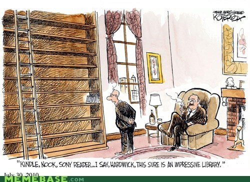 etc impressive kindle library Memes - 5782233088