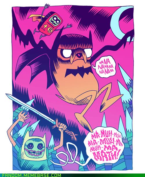adventure time batman crossover Fan Art - 5782315008