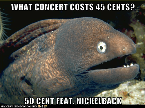 50 cent,Bad Joke Eel,concert,Music,nickelback