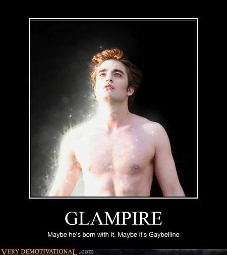 edward glam hilarious maybeline vampire - 5782573824
