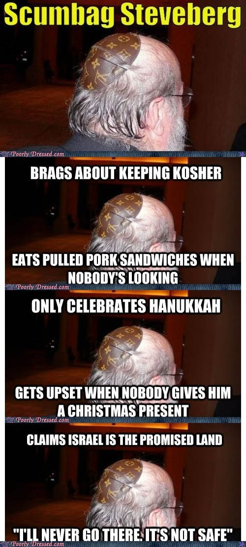 only celebrates hanukkah, gets upset when no one gives him xmas present