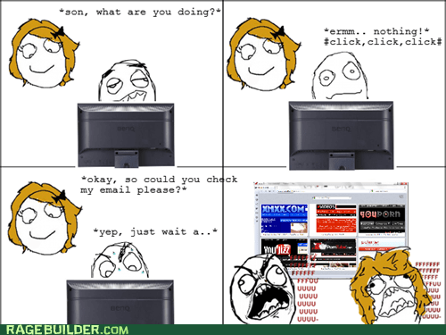 Awkward fu guy mom pr0ntimes Rage Comics - 5782882048