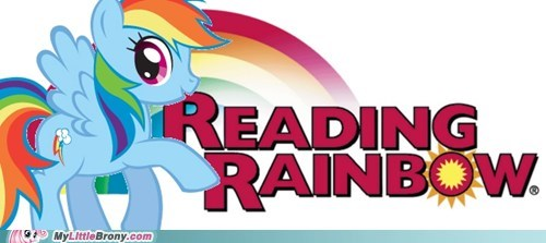 books crossover rainbow dash read it and weep - 5782907392