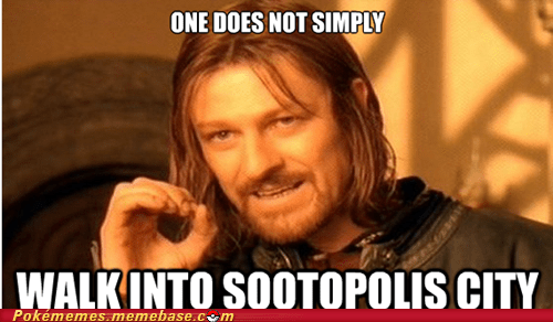 dive,hm,meme,Memes,one does not simply,sootopolis city