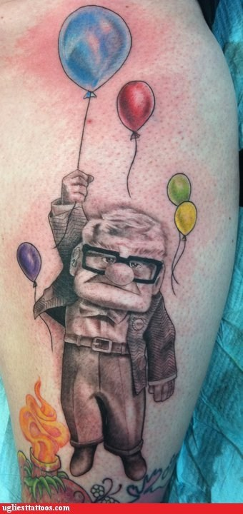 Hall of Fame,movies,pixar,tattoo WIN,up