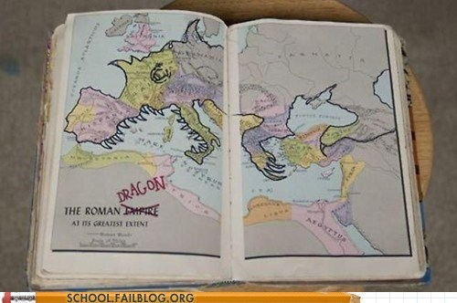 dragon europe geography map rawr rome - 5783242496