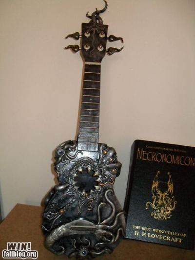 cthulu eldritch guitar instrument lovecraft Music necronomicon - 5783298816