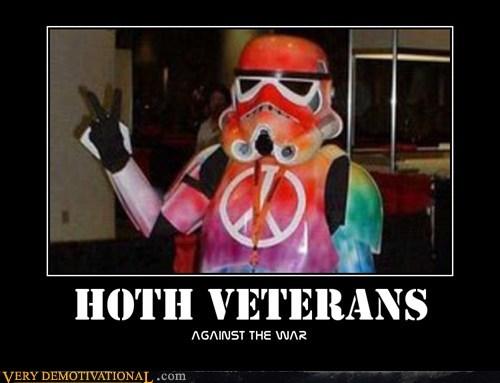 hilarious,Hoth,peace,stormtrooper,veterans