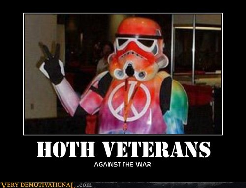 hilarious Hoth peace stormtrooper veterans - 5783309568
