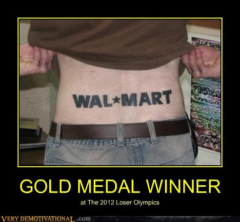 GOLD MEDAL WINNER at The 2012 Loser Olympics
