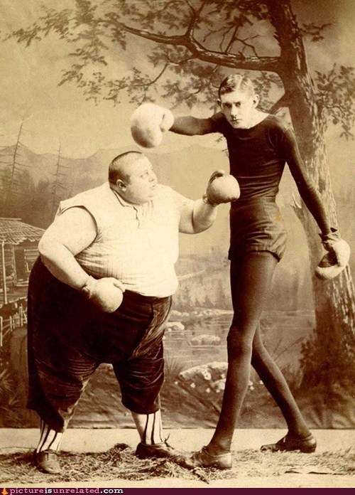 black and white photograp,boxing,grudge,old,wtf