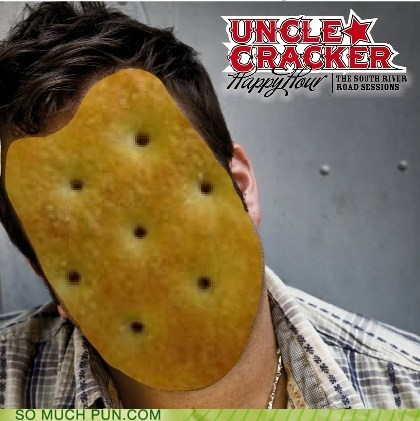 cracker,homophone,literalism,uncle,uncle kracker