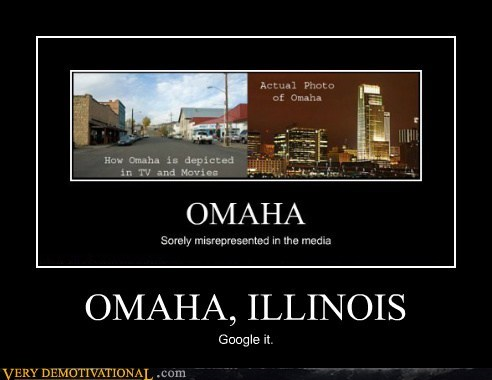 OMAHA, ILLINOIS Google it.