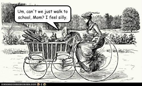 art bicycle children historic lols kids moms school - 5785583104