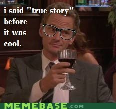 barney stinson hipster hipster-disney-friends how i met your mother true story