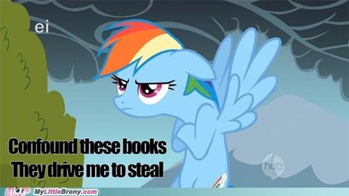 confound these books daring do egghead meme ponies rainbow dash - 5787159040