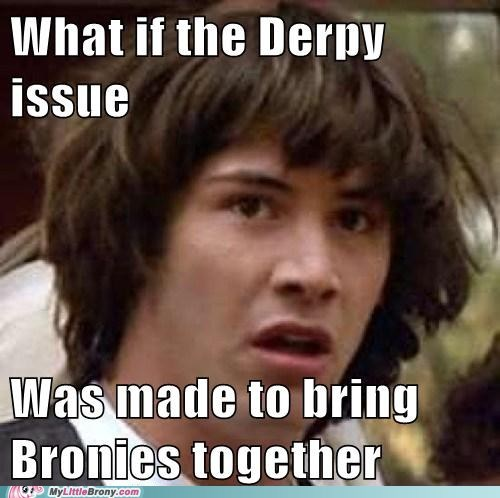 conspiracy keanu derpy hooves meme save derpy - 5787306240