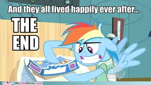 cool story Happily Ever After rainbow dash The End - 5787412736