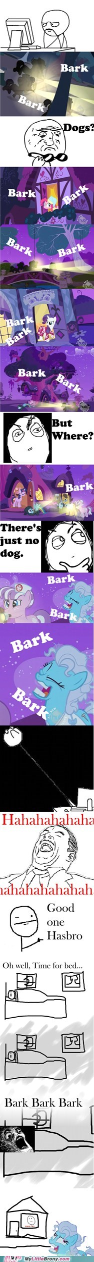 bark,comic,comics,crazy pony,scared,TV