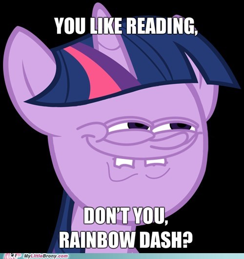 egghead reading SpongeBob SquarePants the internets twilight sparkle - 5787929600