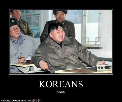 KOREANS haruhi
