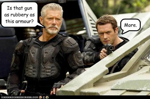 armor dead gun jason-omara jim shannon more nathaniel taylor rubber Stephen Lang - 5788180992