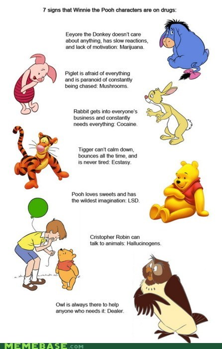 best of week,childhood,destroyed,Text Stuffs,winnie the pooh