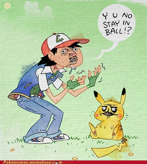 art ash me gusta meme Memes pikachu Y U No Guy - 5788345600