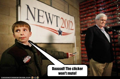 funny newt gingrich republican - 5788585728