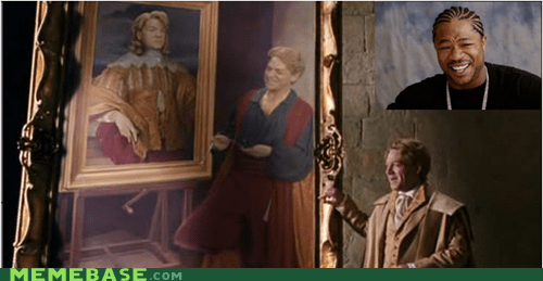 gilderoy lockhart,Harry Potter,painting,yo dawg