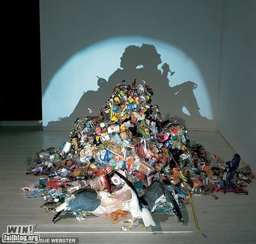 art,g rated,Hall of Fame,light,shadow,silhouette,trash,win