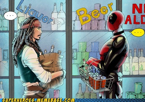 Awesome Art deadpool jack sparrow - 5789624320