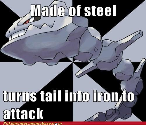 iron Pokémans silly steelix tail - 5790044416