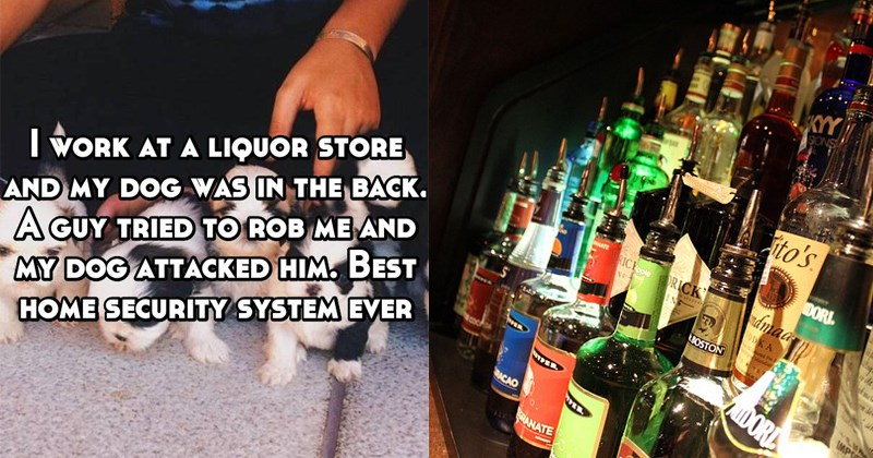 confessions about working in a liquor store