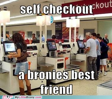 Bronies computers IRL judge self checkout - 5790758912