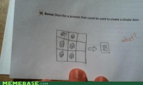 Memes minecraft repost teacher video games - 5791061760