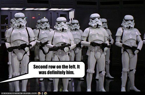 definitely id lineup police second Star Trek star wars stormtrooper - 5791934208