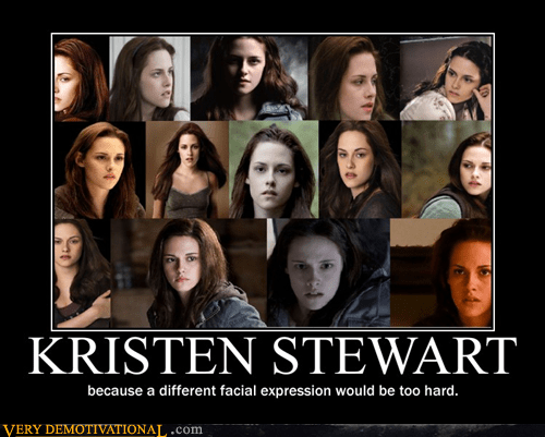 acting facial expression hilarious kristen stewart