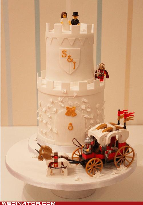 funny wedding photos lego legos wedding cake - 5793158400