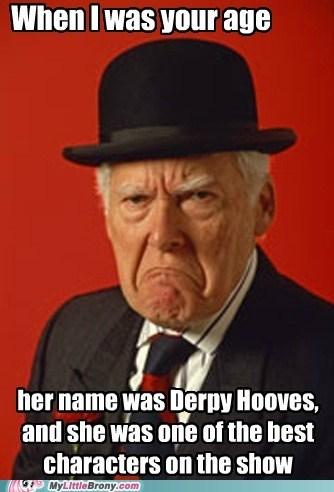 derpy hooves grumpy guy meme parasprites - 5793197312