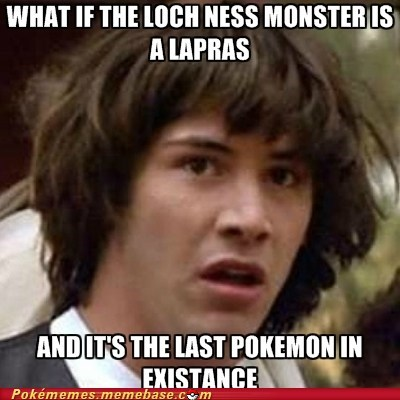 best of week conspiracy keanu loch ness monster meme Memes - 5793390080
