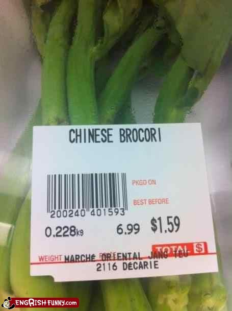 broccoli,brocori,price tag