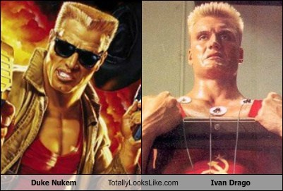 Duke Nukem Totally Looks Like Ivan Drago